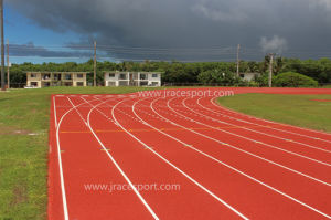 Weather Resistance Rubber Synthetic Running Track (IAAF &CE standard) pictures & photos