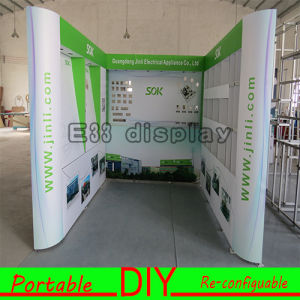 Hot Sale Versatile Portable Aluminum Fabric Exhibition Booth pictures & photos