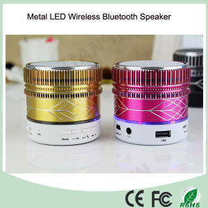 2016 Hot Selling Metal Wireless LED Bluetooth Speaker (BS-118) pictures & photos