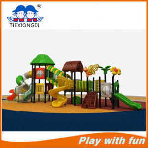 New Design Kids Commercial Plastic Playgrounds for Sale pictures & photos