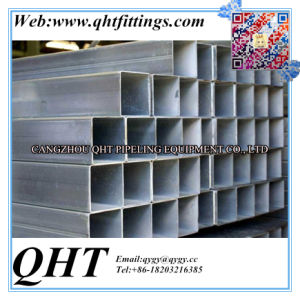 Hot Dipped Galvanized Square and Rectangular Steel Pipe pictures & photos