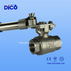 Automatic Reset 2PC Ball Valve pictures & photos