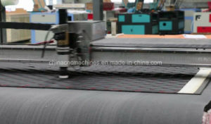 Automatic CNC Fabrics Plotter Cutters with Electric Oscillating Knife pictures & photos