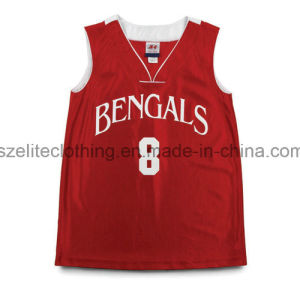 OEM Custom Dri Fit Basketball Jersey (ELTLJJ-16) pictures & photos