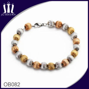 Fashion Gold Ball Beaded Chain Bracelet pictures & photos