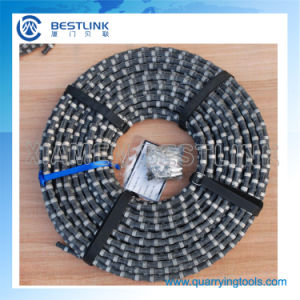 Diamond Wire Saw Cutting for Marble Profiling and Square Cutting pictures & photos
