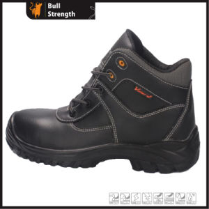 Ankle Industrial Leather Safety Shoe with Steel Toe&Midsole (SN5406) pictures & photos