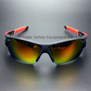 Fashion Sunglass with Colorful Mercury Lesn UV Protection (SG128) pictures & photos