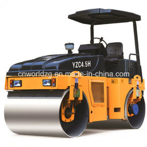 China Small Tandem Rollers with Hydraulic Transmission pictures & photos
