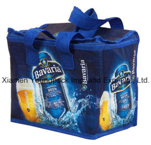 Promotional PP Non-Woven Custom Printed Insulated Cool Bag pictures & photos