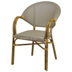 Outdoor Textilene French Bistro Leisure Cafe Chair (TC-08018) pictures & photos