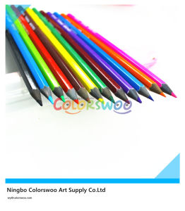 7′′ Top Quality Black Wood Color Pencil for Students and Artist pictures & photos