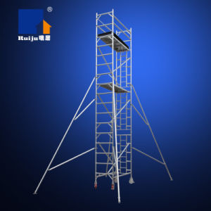 Single Width Scaffolding with Vertical Ladder 6.2m pictures & photos