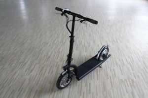 12 Inch Wheel Brushless Gear Motor 36V 300W Lithium Battery Foldable Electric Scooter pictures & photos