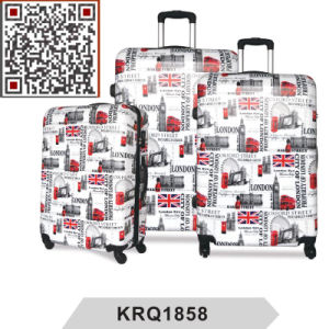 PC London Bus Printing Travel Trolley Luggage Suitcase pictures & photos