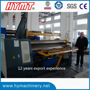 W11H-16X2500 3-roller Automatic plate bending rolling machine pictures & photos