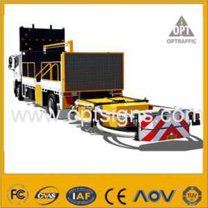 Amber Traffic Control Variable Message Signs Truck Mounted Vms pictures & photos