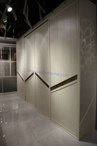 Popular Home Furniture Aluminium Frame Wardrobe