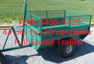 Light Duty ATV Cage Utility Box Trailer