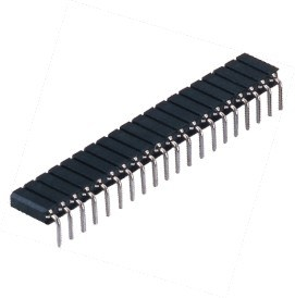 2.54mm Single Row of Terminal Length: 11.0mm Machined Pin Header pictures & photos