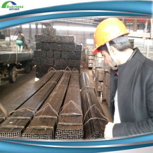 ERW Carbon Black Annealing Square Pipe pictures & photos