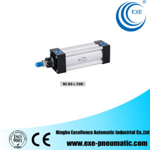 Si Series ISO15552 Pneumatic Cylinder Standard Air Cylinder Si63*100 pictures & photos