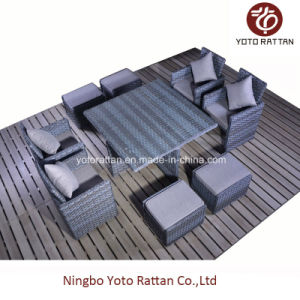 Indoor & Outdoor Rattan Furniture for Garden with 4 Seater / SGS (5006) pictures & photos