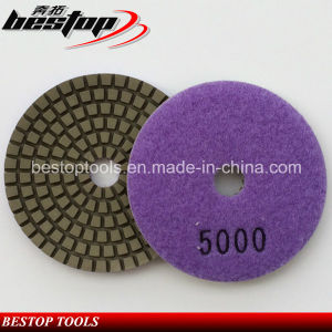 Grit 5000# Granite Wet Abrasive Pad for Australian Market pictures & photos
