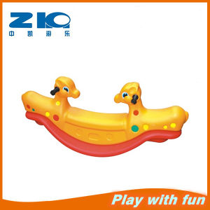 2015 China Outdoor /Indoor Playground Cheap Plastic Seesaw for Kids pictures & photos