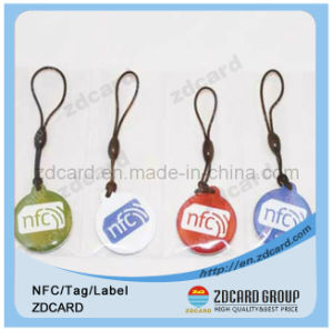 Customized Shape RFID NFC Epoxy Card as Loyalty Card pictures & photos