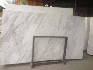 Volakas White Marble Slab for Tiles and Countertops pictures & photos