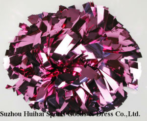 Metallic Pink POM Poms, Cheerleading POM Poms pictures & photos