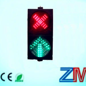 En12368 LED Driveway Lane Indicator Light Red Cross Green Arrow pictures & photos