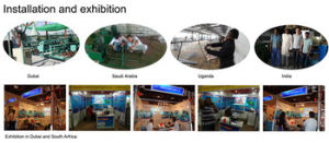 China Manufacture Chain Link Fence Making Machine pictures & photos