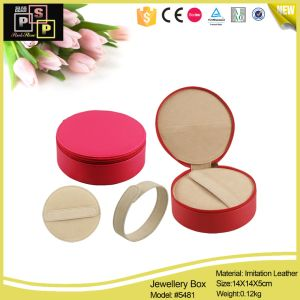 Hello Pink Small Lovely Round Custom Jewelry Gift Boxes (5481) pictures & photos