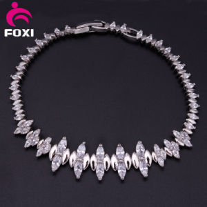New Design Fine Jewelry Gold Plated Zircon Bracelet pictures & photos