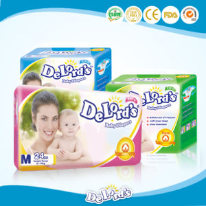 High Quality Super Soft Disposable Cotton Baby Diaper pictures & photos
