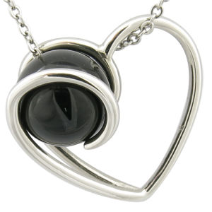 Christmas Gift Stainless Steel Pendant Heart Charm pictures & photos