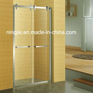 New Type Double Sliding Door Shower Screen (A-8951C) pictures & photos