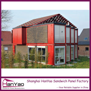 High Quality Customized Luxury Steel Structure Combined Container House pictures & photos