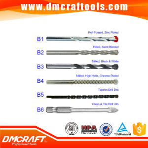 High Carbon Steel DIN8039 Concrete Drill Bit pictures & photos
