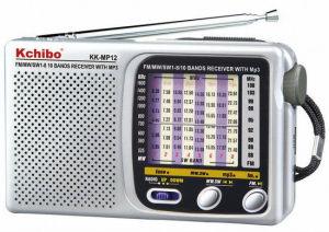 Kchibo Kk-MP12 FM/MW/Sw1-8 10 Band Radio with MP3