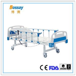 Chinese Manufacturer CE FDA Approval One Function Hospital Bed pictures & photos