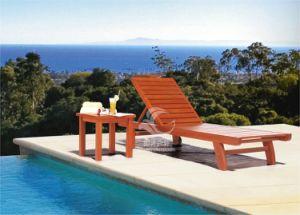 Wooden Garden Lounge