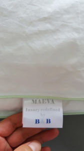50% White Goose Down Quilt for Hotel pictures & photos