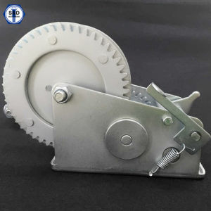 Hand Winch 1500lbs Zinc Plated pictures & photos