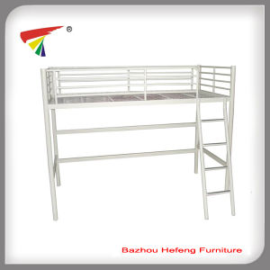 Simple Ikea Metal Loft Bed for Children (HF012) pictures & photos