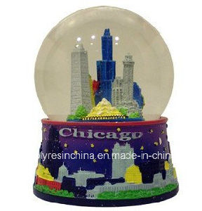 Customized Souvenir Crafts of Chicago Snow Ball Gifts pictures & photos