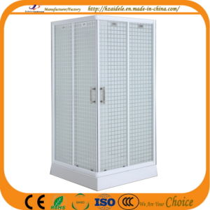 Square Tray Fabric Glass Shower Cubicle (ADL-8012E) pictures & photos