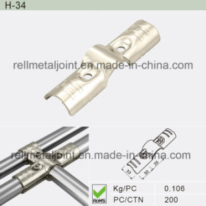 Nickel Plated Metal Joint with Nut and Bolt (H-34) pictures & photos